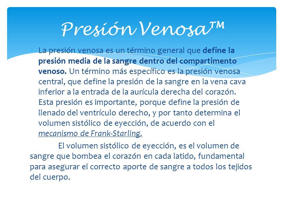 Presión Venosa™
