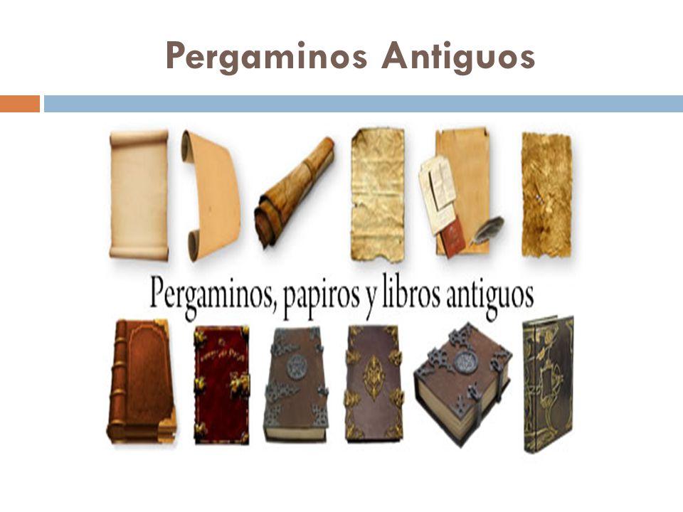 Pergaminos Antiguos