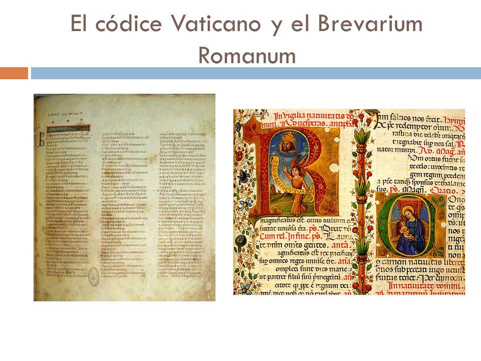 El códice Vaticano y el Brevarium Romanum