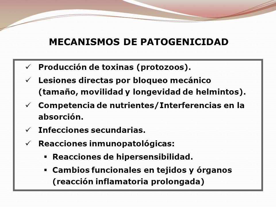 MECANISMOS DE PATOGENICIDAD