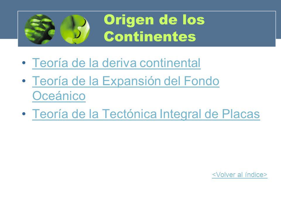 Origen de los Continentes