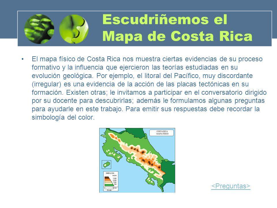 Escudriñemos el Mapa de Costa Rica