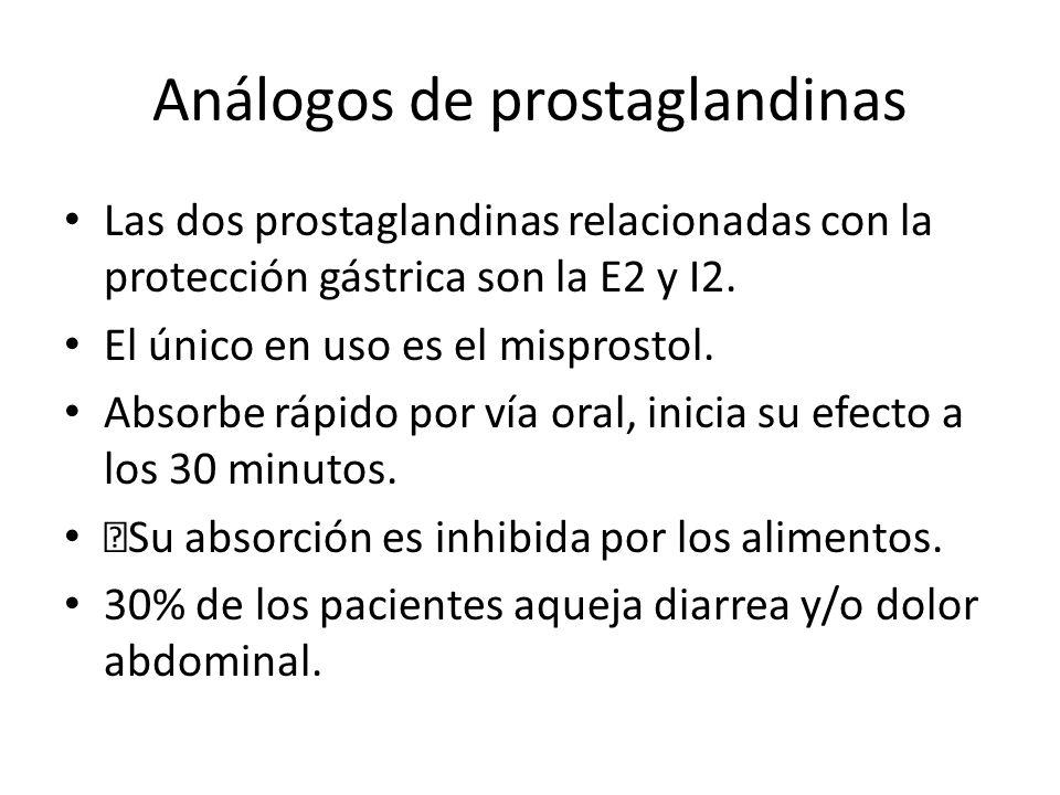 Análogos de prostaglandinas