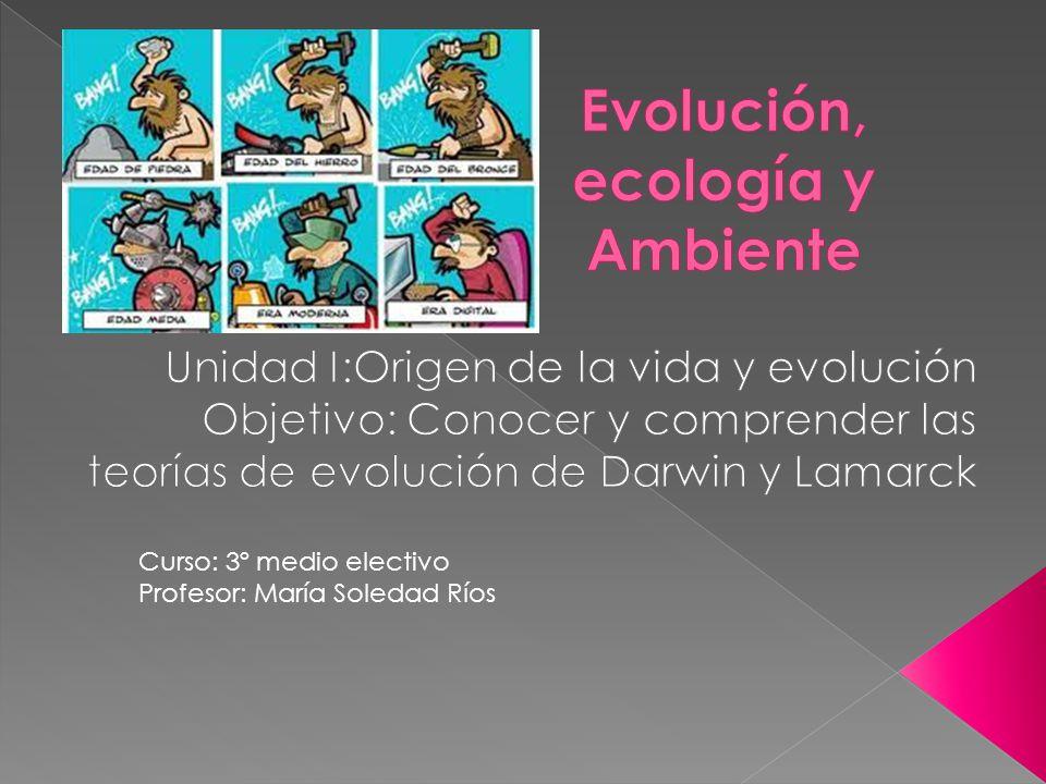 Evolución, ecología y Ambiente