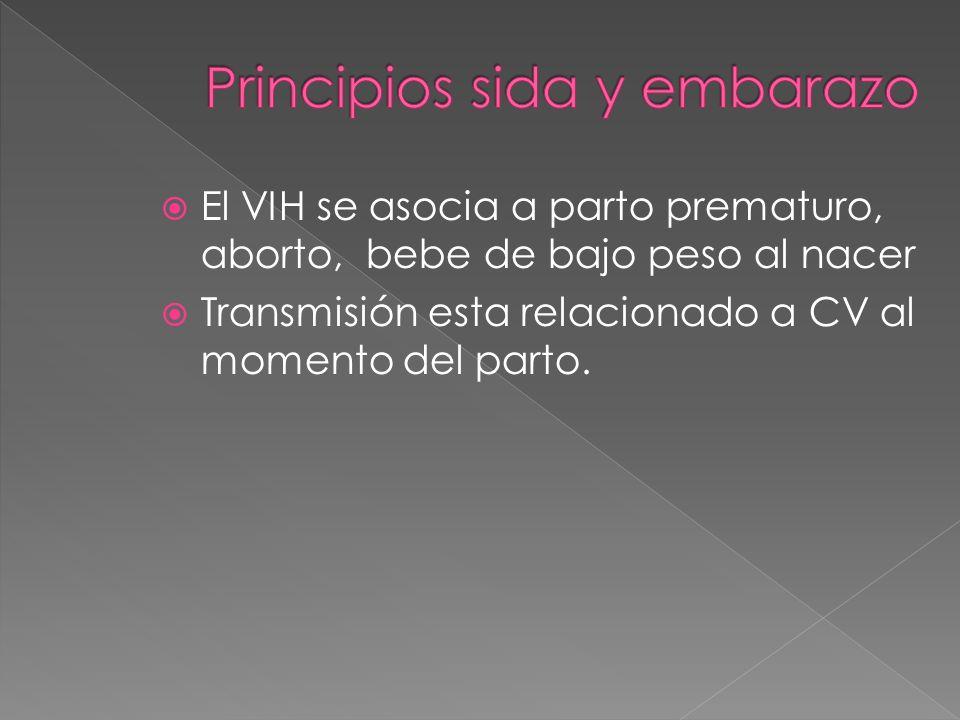 Principios sida y embarazo