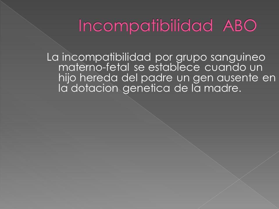 Incompatibilidad ABO