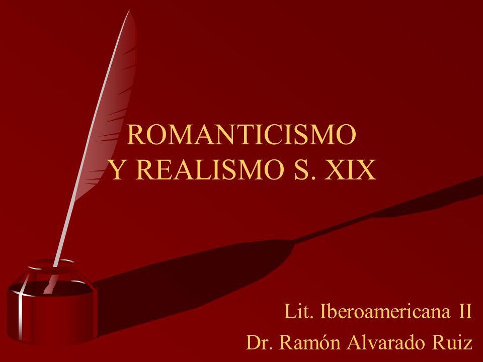 ROMANTICISMO Y REALISMO S. XIX
