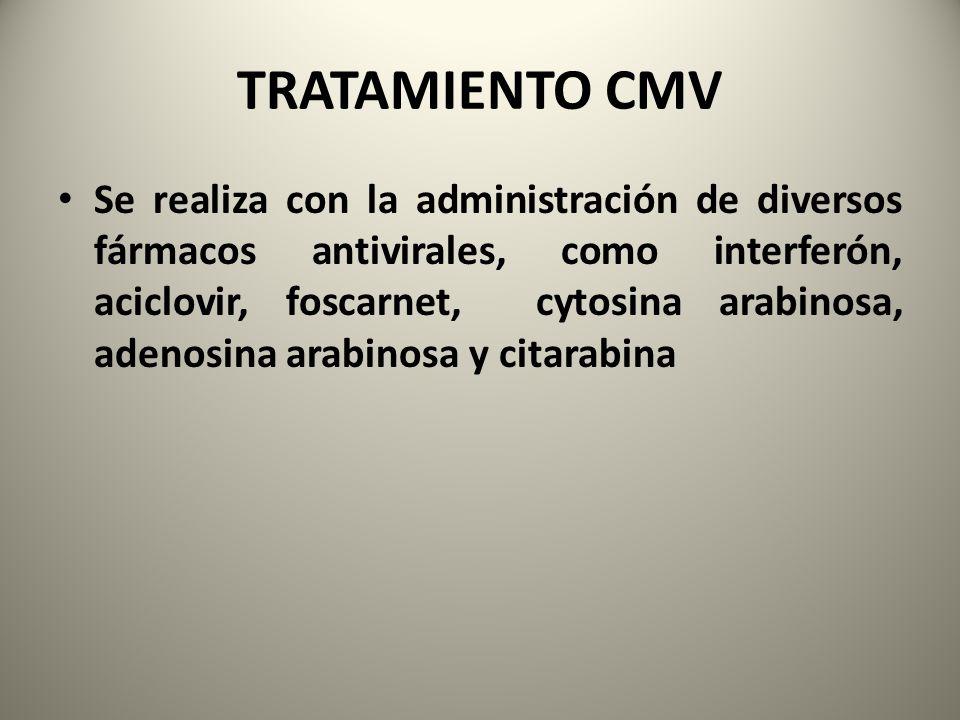 TRATAMIENTO CMV