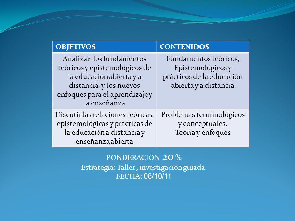 Problemas terminológicos y conceptuales. Teoría y enfoques