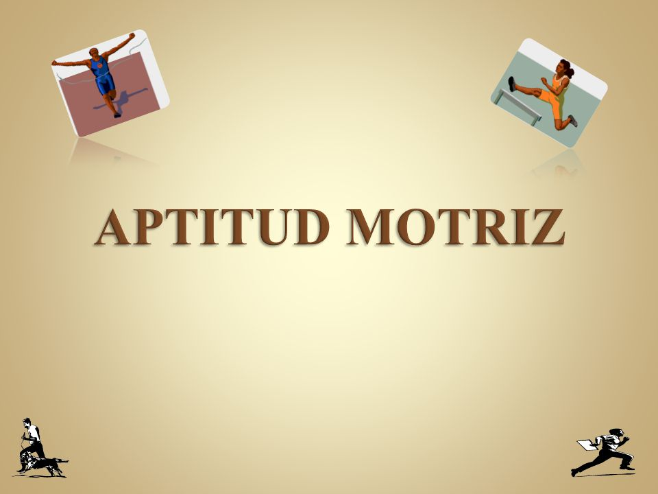 APTITUD MOTRIZ