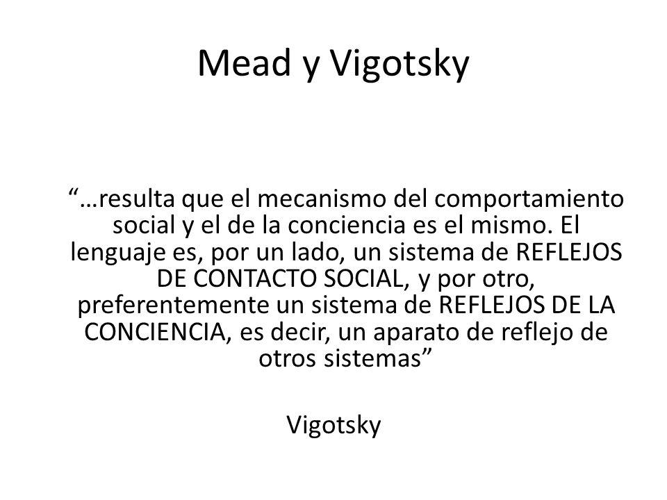 Mead y Vigotsky