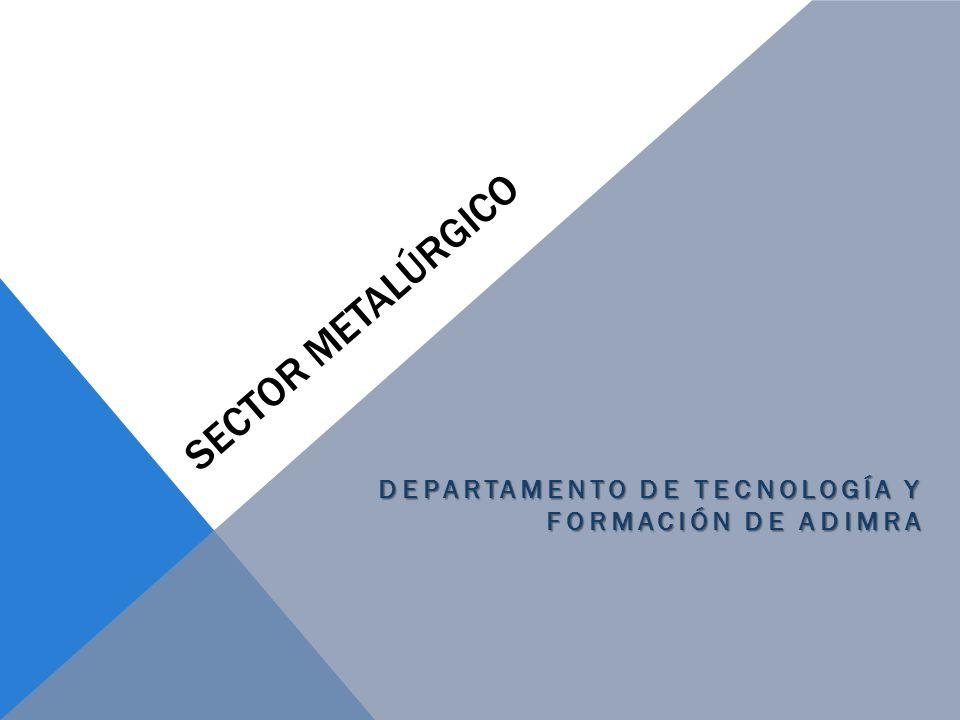 Departamento de tecnología y Formación de ADIMRA