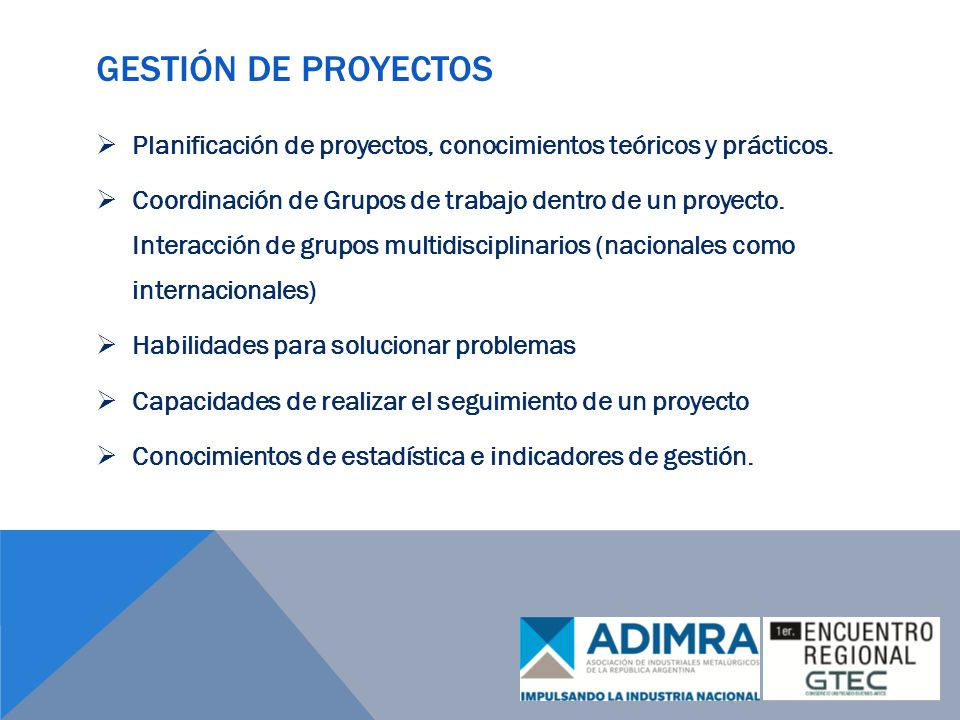 Gestión de proyectos Planificación de proyectos, conocimientos teóricos y prácticos.