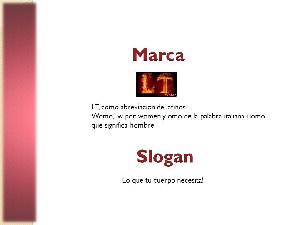 Marca Slogan LT, como abreviación de latinos