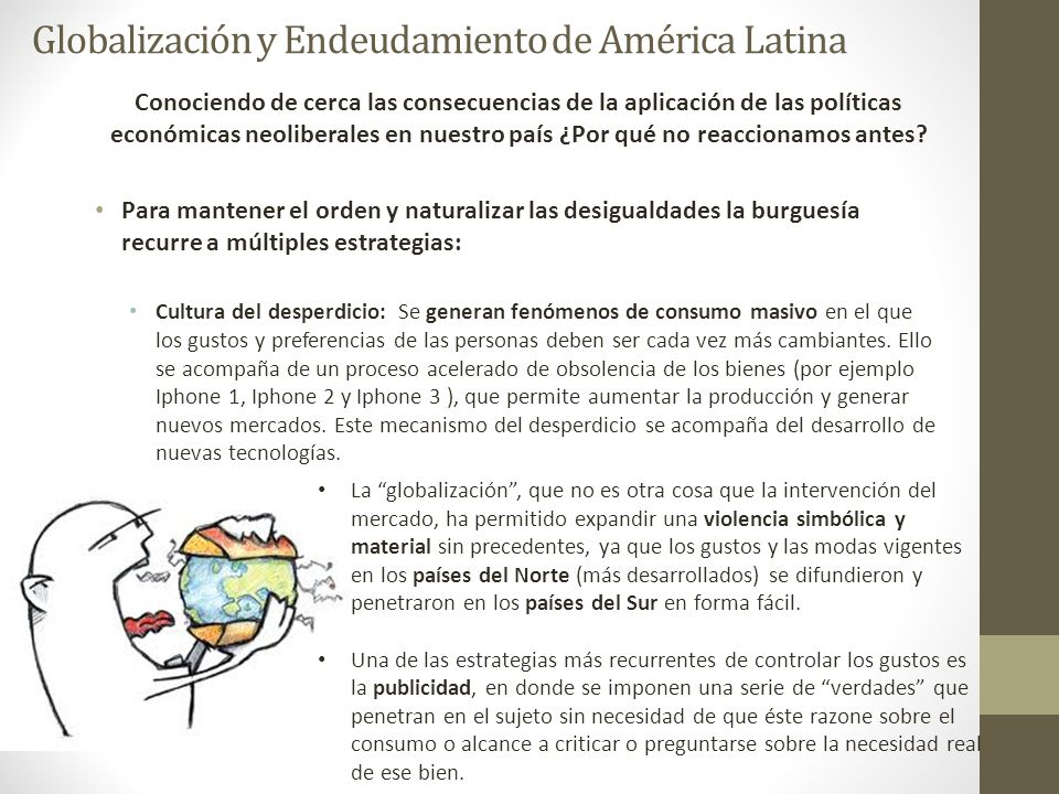 Globalización y Endeudamiento de América Latina