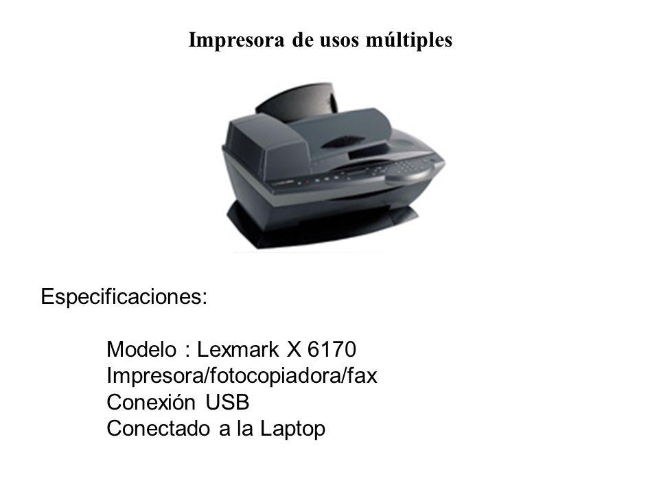 Impresora de usos múltiples