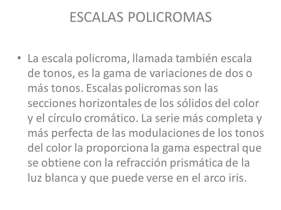 ESCALAS POLICROMAS