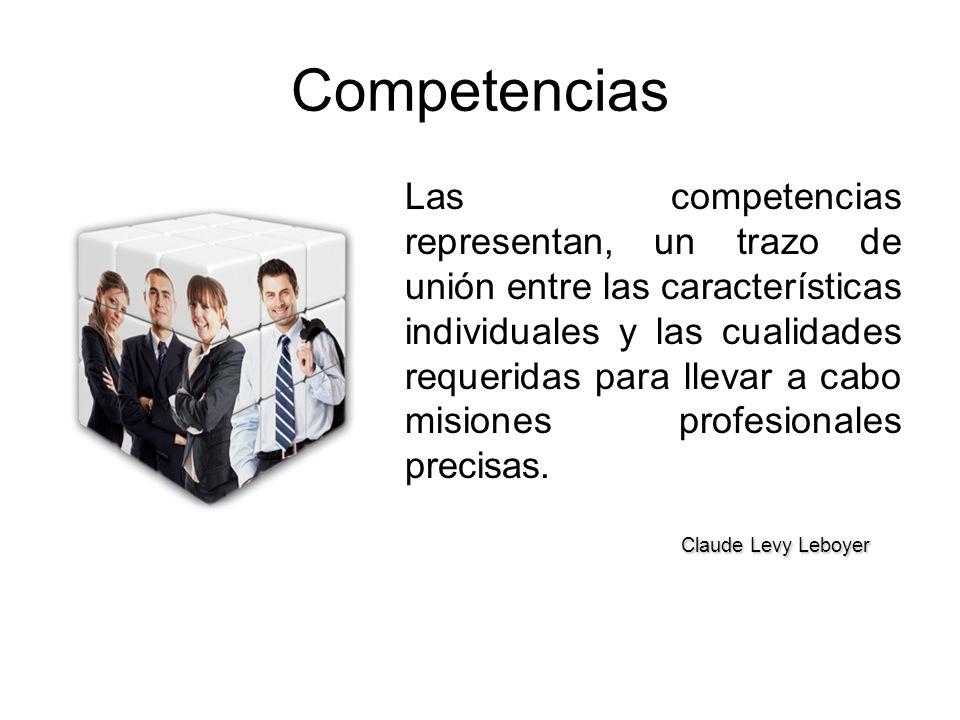 Competencias Claude Levy Leboyer