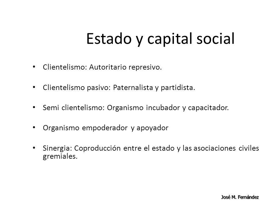 Estado y capital social