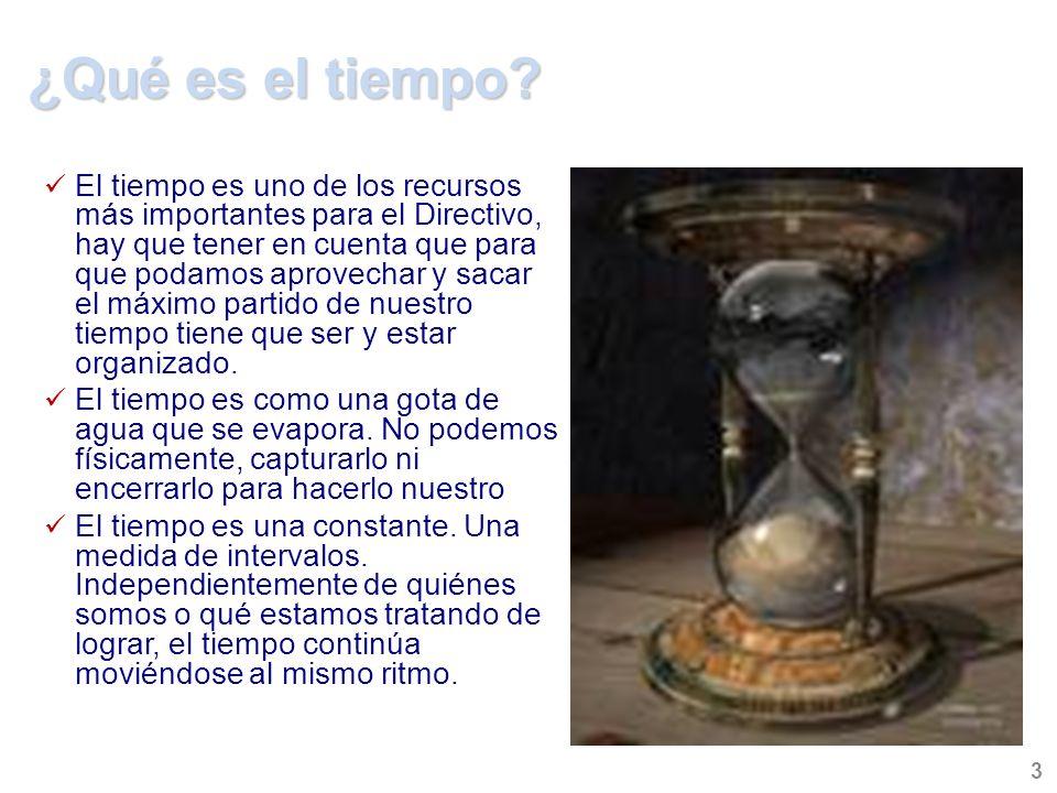 ¿Qué es el tiempo