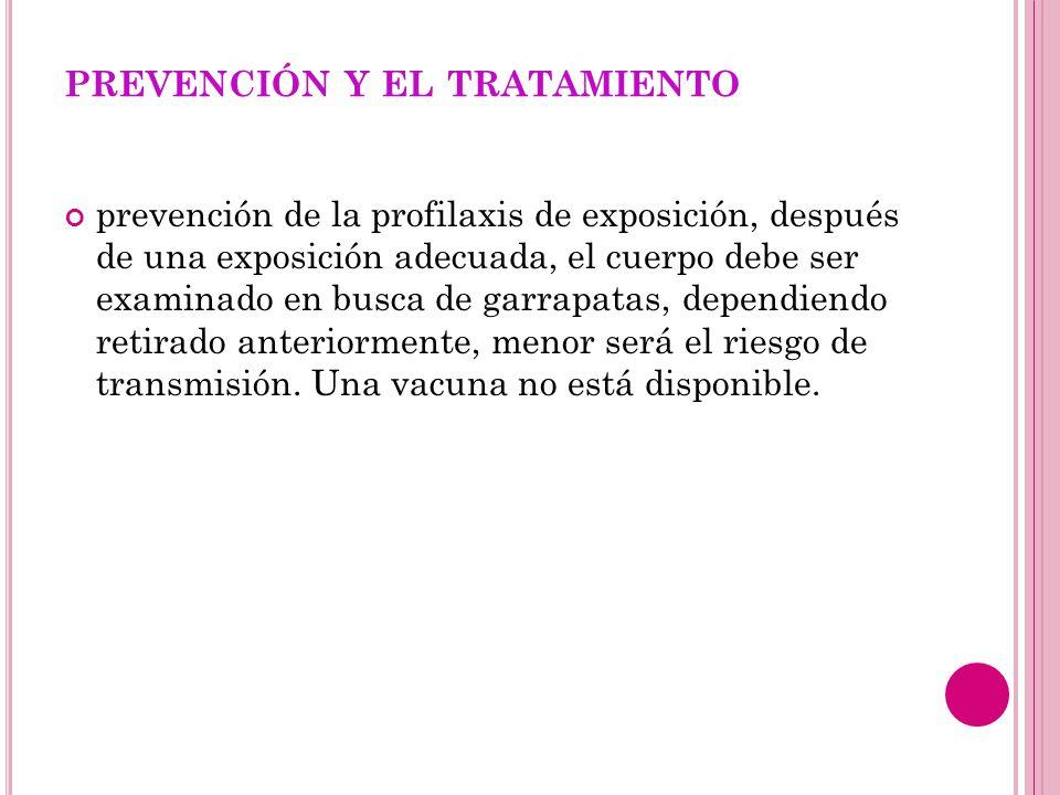 prevención y el tratamiento