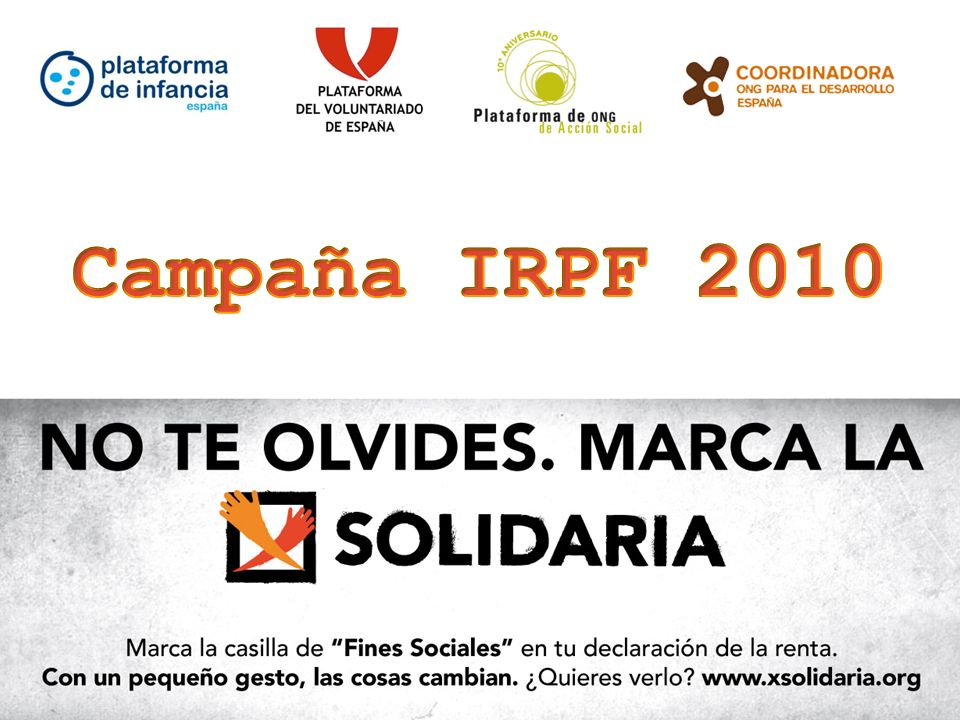 Dossier de prensa Campaña IRPF 2008