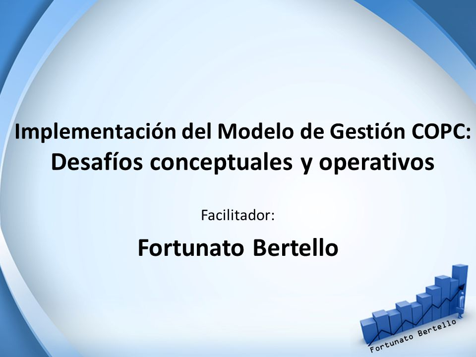 Facilitador: Fortunato Bertello