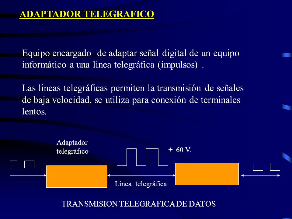 Adaptador Telegráfico