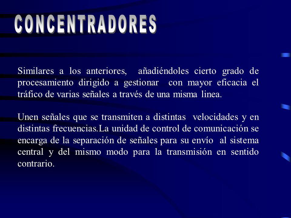 CONCENTRADORES Concentradores.