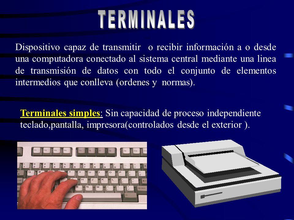 TERMINALES TERMINALES.