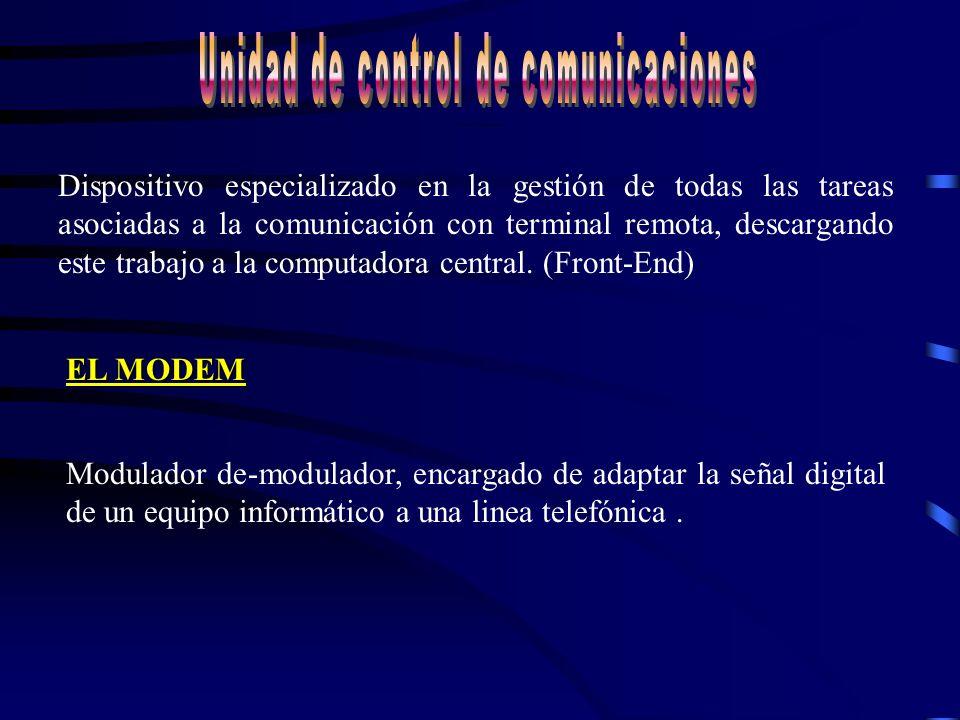 Unidad de Control de Comunicaciones