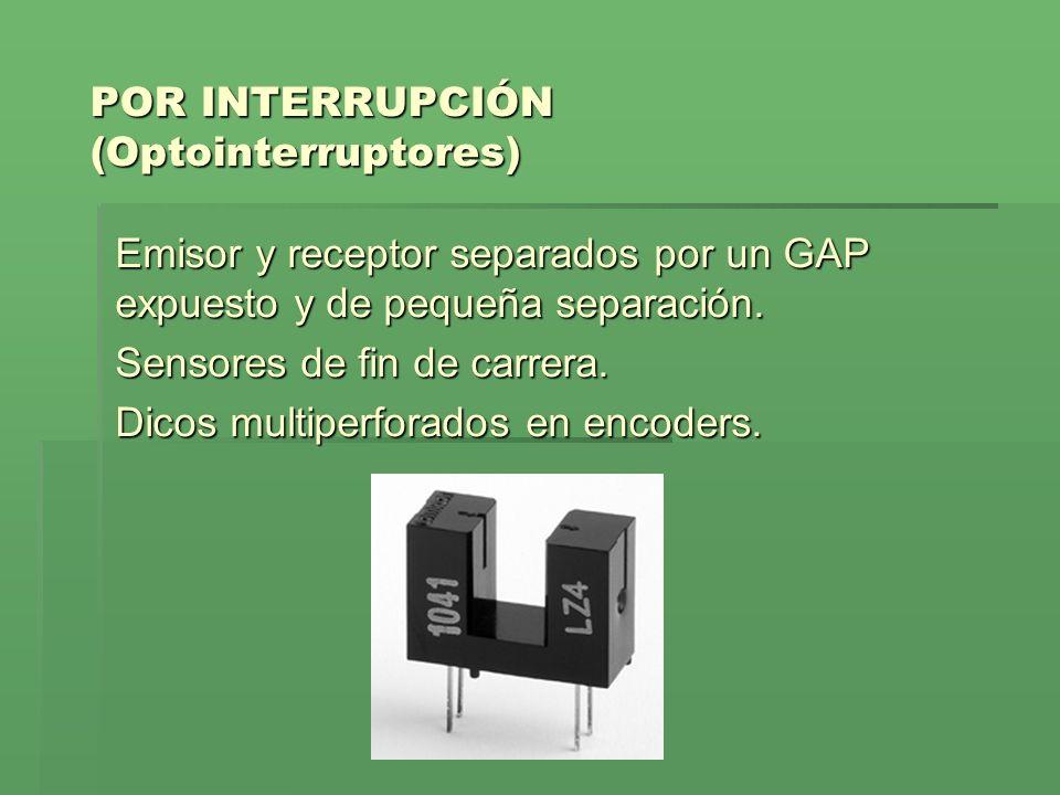POR INTERRUPCIÓN (Optointerruptores)