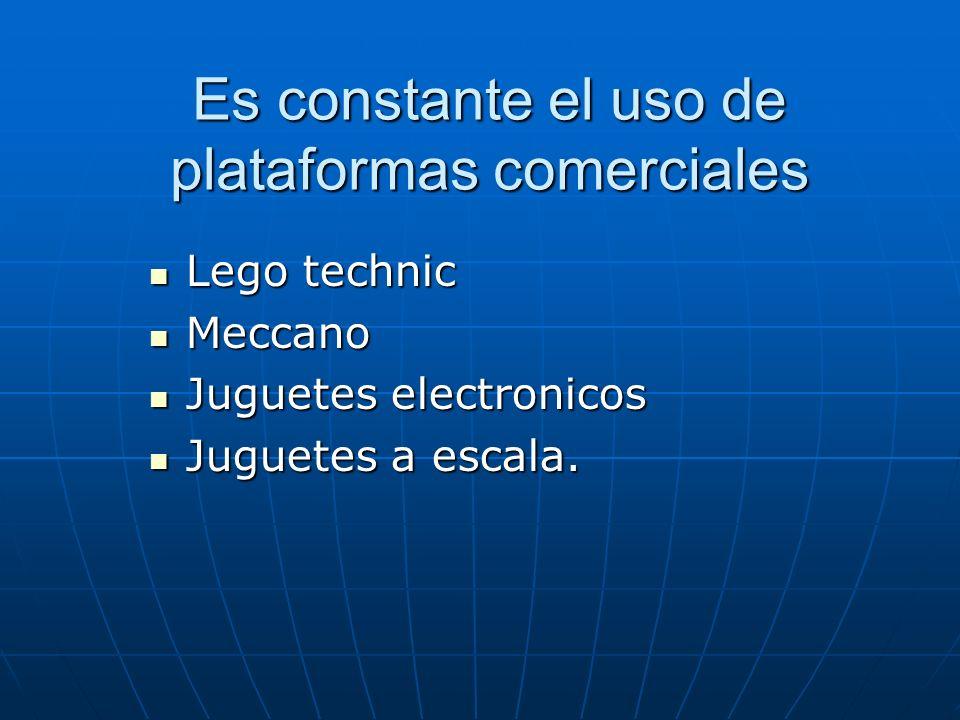 Es constante el uso de plataformas comerciales