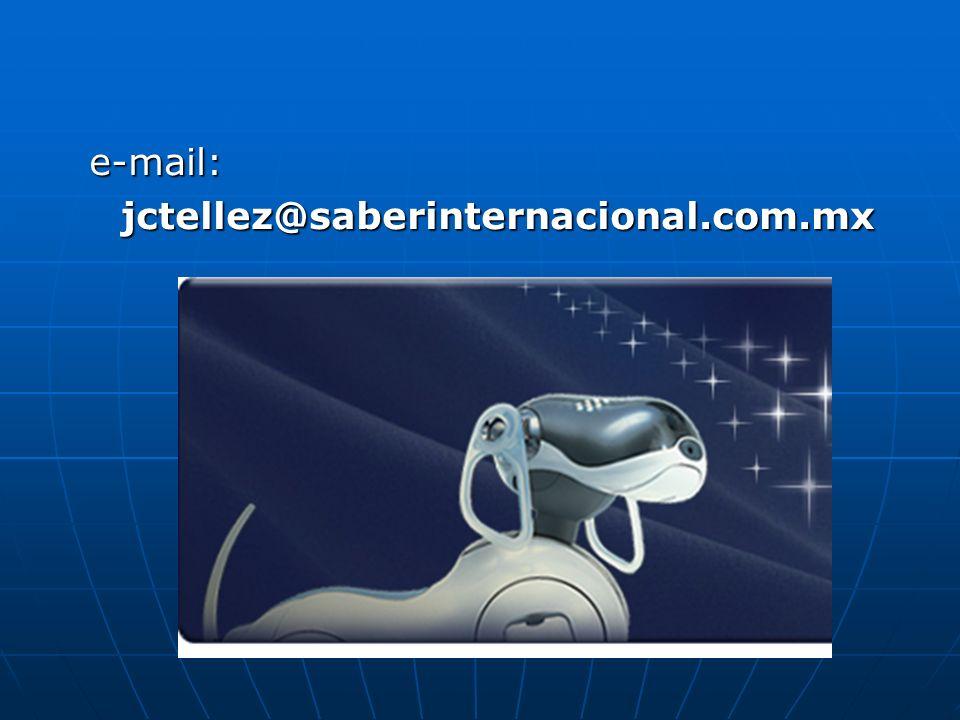e-mail: jctellez@saberinternacional.com.mx