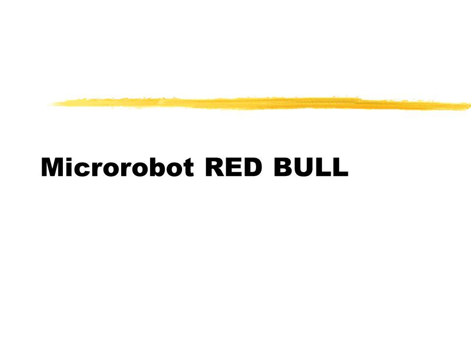Microrobot RED BULL