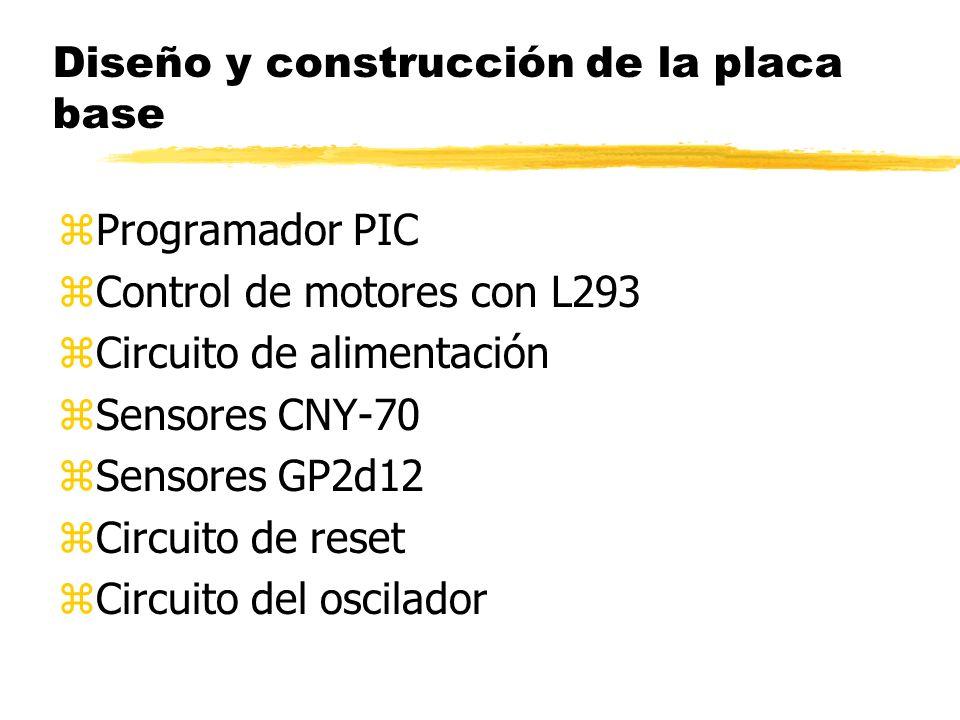 Diseño y construcción de la placa base