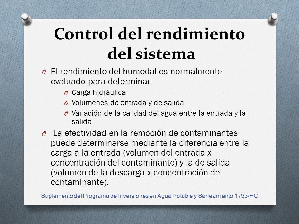 Control del rendimiento del sistema