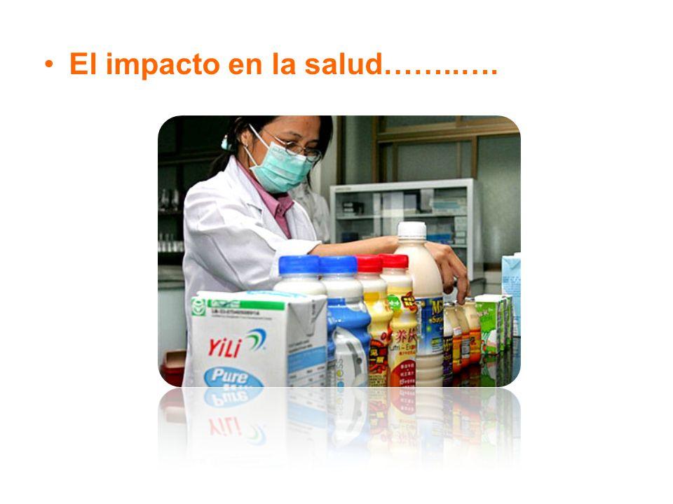 El impacto en la salud……..….