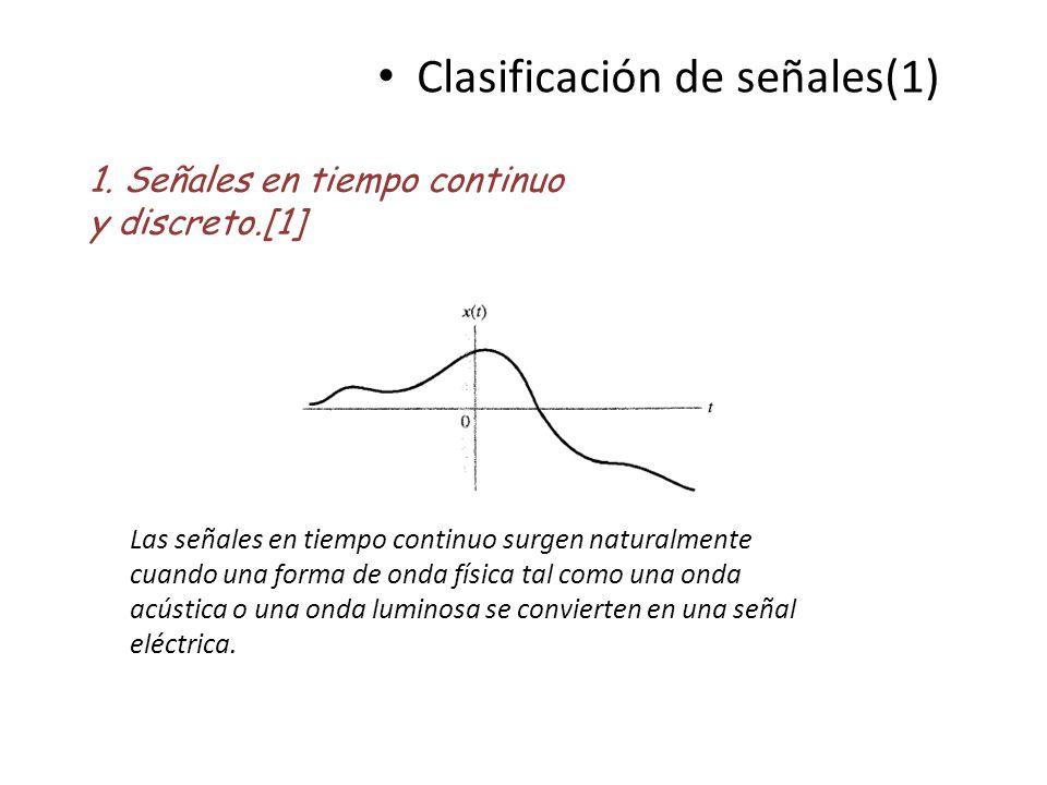 Clasificación de señales(1)