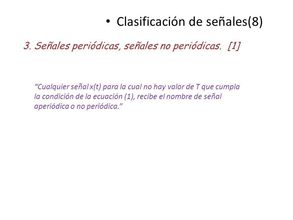 Clasificación de señales(8)
