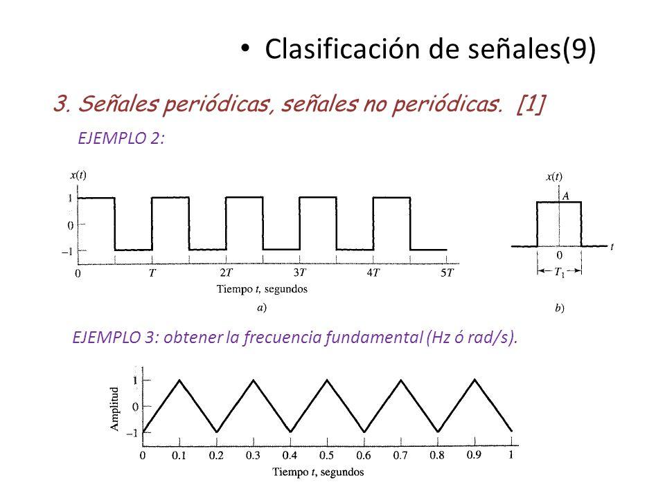 Clasificación de señales(9)