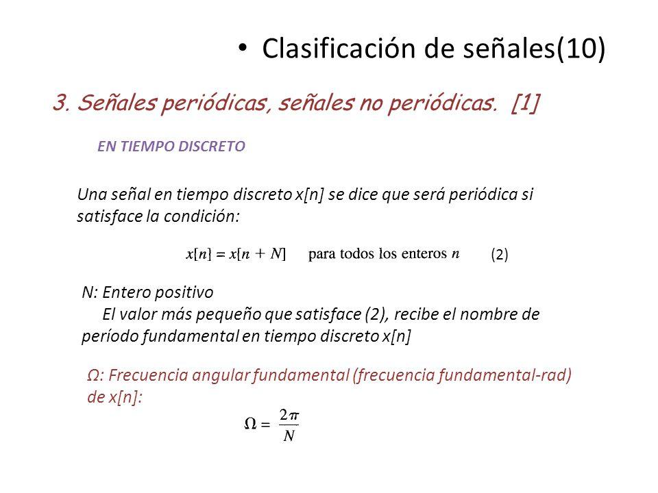 Clasificación de señales(10)
