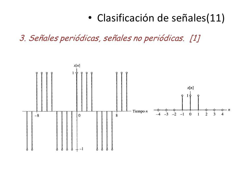 Clasificación de señales(11)