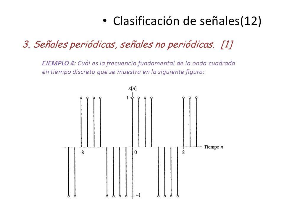 Clasificación de señales(12)