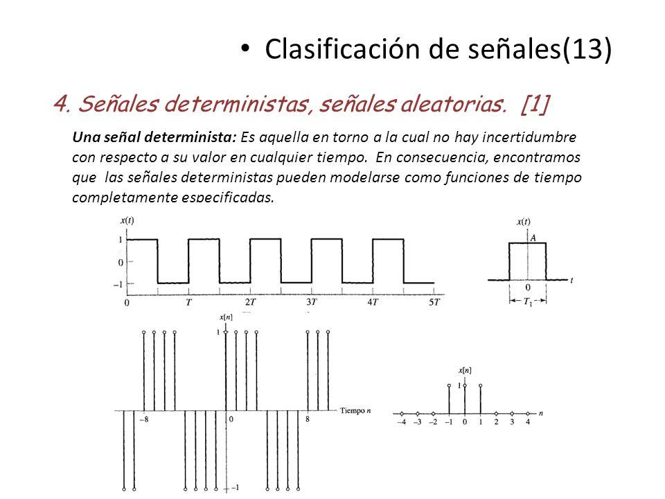 Clasificación de señales(13)
