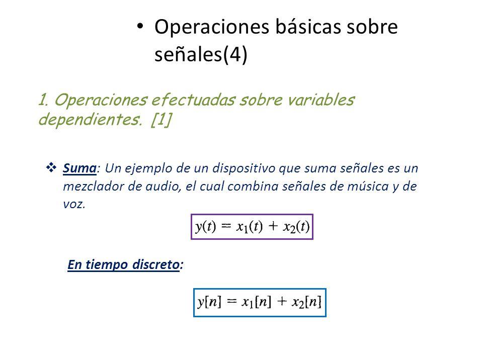 Operaciones básicas sobre señales(4)
