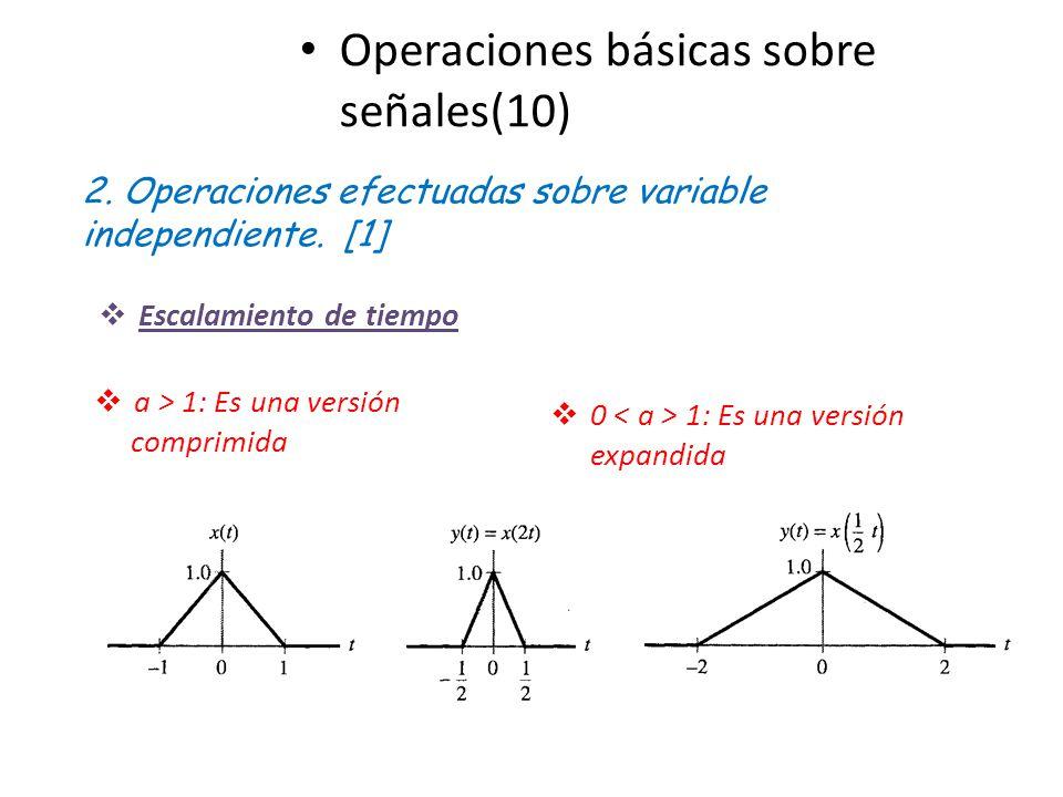 Operaciones básicas sobre señales(10)
