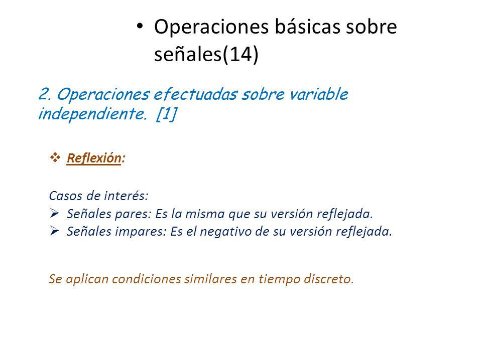 Operaciones básicas sobre señales(14)