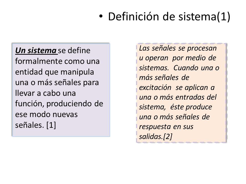 Definición de sistema(1)