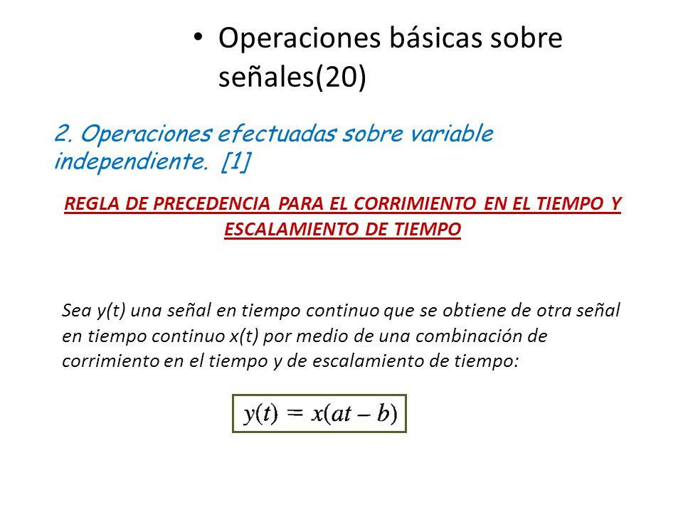 Operaciones básicas sobre señales(20)